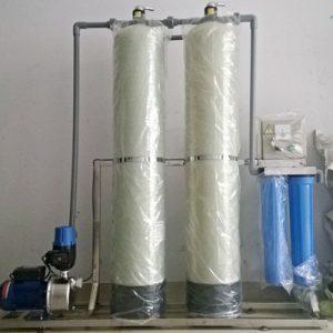 Dây chuyền lọc nước tinh khiết RO công suất 125 lít/h